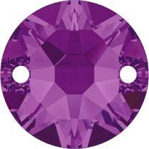 Swarovski Crystal Xirius Sew On Stone 3288 MM 8,0 AMETHYST F-144 Pcs.