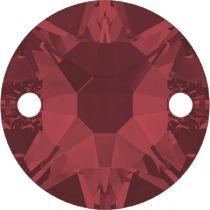 Swarovski Crystal Xirius Sew On Stone 3288 MM 10,0 SCARLET F- 96 Pcs