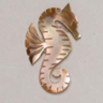 Brownlip seahorse Pendant
