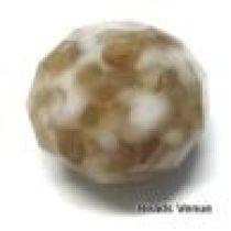 Swarovski Crystal Rondel(5041/A) Large Hole Mosaic Beads -18mm - Sand Opal