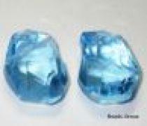 Swarovski Divine Rock Pendant 6191 -19mm  Aquamarine