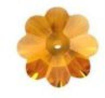 Swarovski MARGARITA Flower(3700)  -6mm Topaz