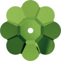 Swarovski MARGARITA Flower(3700)  -6mm-Dark Moss Green