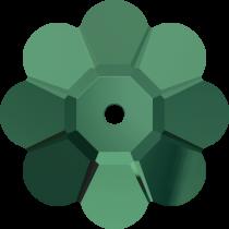 Swarovski 3700 Margarita Flower -14mm- Emerald