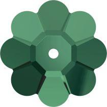 Swarovski MARGARITA Flower(3700)  -6mm Emerald