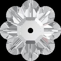 Swarovski  3700 Margarita Flower -14mm- Crystal Foiled