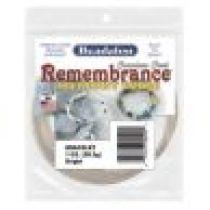 Beadalon Remembrance Memory Wire Bracelet 1 OZ.(Bright)