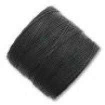 Super Lon (S- Lon) Bead Cord- Black