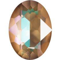 Swarovski Crystal Oval Fancy Stone4120 MM 18,0X 13,0 CRYSTAL CAPPUCCINO DELITE