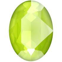 Swarovski Crystal Oval Fancy Stone4120 MM 18,0X 13,0 CRYSTAL LIME_S