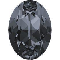 Swarovski Crystal Oval Fancy Stone4120 MM 25,0X 18,0 CRYSTAL SILVNIGHT F