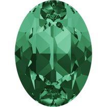 Swarovski Crystal Oval Fancy Stone4120 MM 14,0X 10,0 EMERALD F