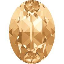 Swarovski Crystal Oval Fancy Stone4120 MM 14,0X 10,0 LIGHT COLORADO TOPAZ F