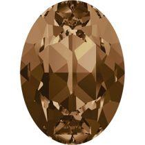 Swarovski Crystal Oval Fancy Stone4120 MM 14,0X 10,0 LIGHT SMOKED TOPAZ F