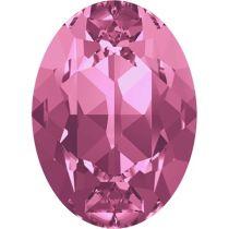 Swarovski Crystal Oval Fancy Stone4120 MM 8,0X 6,0 ROSE F
