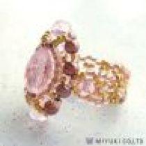Miyuki Brilliant Pink Ring Kit