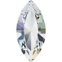 Swarovski Crystal Xillion Navette Fancy Stone4228 MM 8,0X 4,0 CRYSTAL AURORE BOREALE F