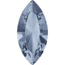 Swarovski Crystal Xillion Navette Fancy Stone4228 MM 8,0X 4,0 CRYSTAL BLUE SHADE F