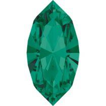 Swarovski Crystal Xillion Navette Fancy Stone4228 MM 15,0X 7,0 EMERALD F