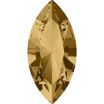Swarovski Crystal Xillion Navette Fancy Stone4228 MM 15,0X 7,0 LIGHT COLORADO TOPAZ F