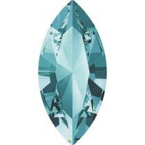 Swarovski Crystal Xillion Navette Fancy Stone4228 MM 8,0X 4,0 LIGHT TURQUOISE F