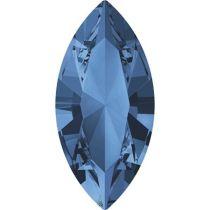 Swarovski Crystal Xillion Navette Fancy Stone4228 MM 15,0X 7,0 MONTANA F