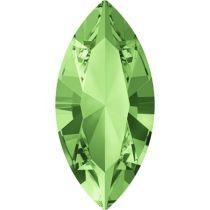Swarovski Crystal Xillion Navette Fancy Stone4228 MM 15,0X 7,0 PERIDOT F