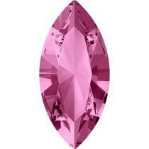 Swarovski Crystal Xillion Navette Fancy Stone4228 MM 15,0X 7,0 ROSE F