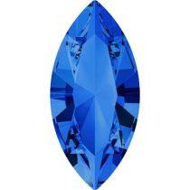 Swarovski Crystal Xillion Navette Fancy Stone4228 MM 15,0X 7,0 SAPPHIRE F