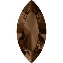 Swarovski Crystal Xillion Navette Fancy Stone4228 MM 8,0X 4,0 SMOKED TOPAZ F