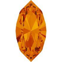 Swarovski Crystal Xillion Navette Fancy Stone4228 MM 8,0X 4,0 TANGERINE F