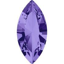 Swarovski Crystal Xillion Navette Fancy Stone4228 MM 4,0X 2,0 TANZANITE F