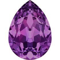 Swarovski Crystal Pear Fancy Stone4320 MM 18,0X 13,0 AMETHYST F