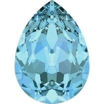 Swarovski Crystal Pear Fancy Stone4320 MM 6,0X 4,0 AQUAMARINE F