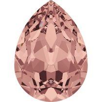 Swarovski Crystal Pear Fancy Stone4320 MM 6,0X 4,0 BLUSH ROSE F