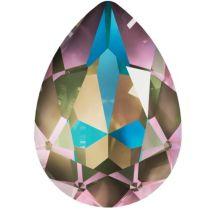 Swarovski Crystal Pear Fancy Stone4320 MM 14,0X 10,0 CRYSTAL ARMY GREEN DELITE