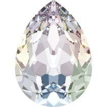 Swarovski Crystal Pear Fancy Stone4320 MM 8,0X 6,0 CRYSTAL AURORE BOREALE F