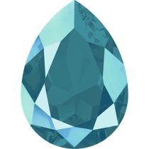 Swarovski Crystal Pear Fancy Stone4320 MM 14,0X 10,0 CRYSTAL AZURE BLUE