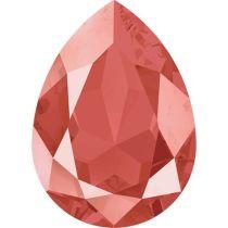 Swarovski Crystal Pear Fancy Stone4320 MM 14,0X 10,0 CRYSTAL LIGHT CORAL