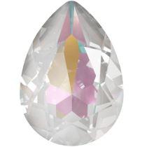 Swarovski Crystal Pear Fancy Stone4320 MM 14,0X 10,0 CRYSTAL LIGHT GREY DELITE