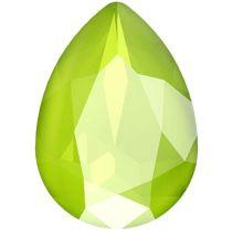 Swarovski Crystal Pear Fancy Stone4320 MM 14,0X 10,0 CRYSTAL LIME