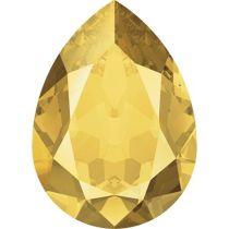 Swarovski Crystal Pear Fancy Stone4320 MM 14,0X 10,0 CRYSTAL METALLIC SUNSHINE F