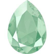 Swarovski Crystal Pear Fancy Stone4320 MM 14,0X 10,0 CRYSTAL MINTGREEN
