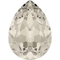 Swarovski Crystal Pear Fancy Stone4320 MM 8,0X 6,0 CRYSTAL MOONLIGHT F