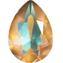 Swarovski Crystal Pear Fancy Stone4320 MM 14,0X 10,0 CRYSTAL OCHRE DELITE
