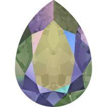 Swarovski Crystal Pear Fancy Stone4320 MM 8,0X 6,0 CRYSTAL PARADISE SHINE F