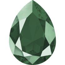 Swarovski Crystal Pear Fancy Stone4320 MM 14,0X 10,0 CRYSTAL ROYAL GREEN