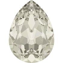 Swarovski Crystal Pear Fancy Stone4320 MM 8,0X 6,0 CRYSTAL SILVER SHADE F