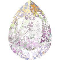 Swarovski Crystal Pear Fancy Stone4320 MM 14,0X 10,0 CRYSTAL WHITE-PATINA F