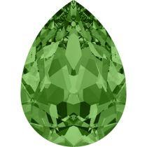 Swarovski Crystal Pear Fancy Stone4320 MM 6,0X 4,0 FERN GREEN F